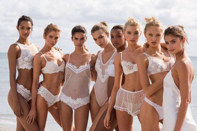 Victoria's Secret Bra Model