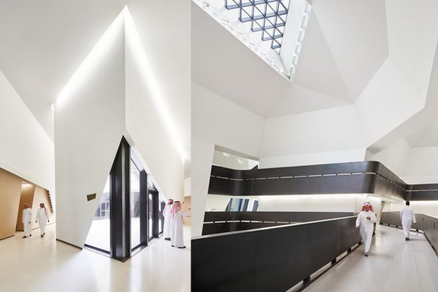 Zaha Hadid Architects King Abdullah Petroleum Studies & Research Centre in Riyadh Architecture Design