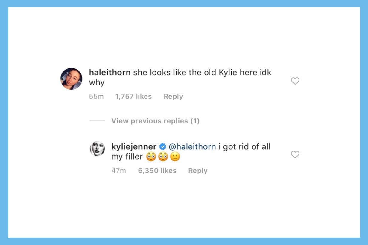 Kylie Jenner Lip Fillers Lip Surgery Rumours Kardashian Family Kylie Cosmetics Stormi Webster Instagram Fans I got rid of all my filler