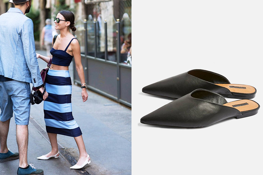 petite how to wear flats