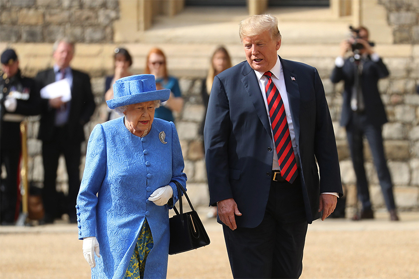 queen-elizabeth-message-donald-trump-brooch