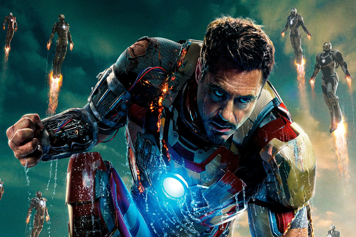 iRon man tony stark robert downey jr iron man 3 2560x1600 wallpaper_www