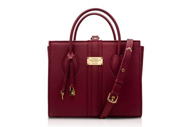 Alexandra K 1.6 BURGUNDY Vegan Handbag