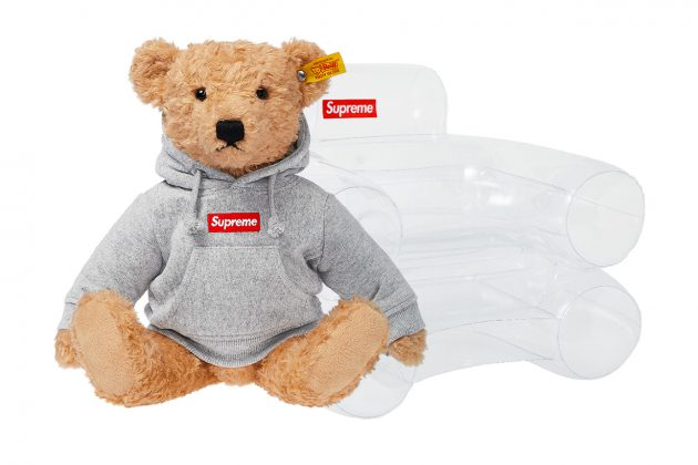 Fall-Winter 2018 Accessories Supreme Steiff Bear