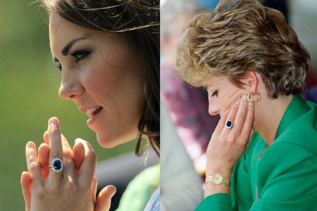 Princess Diana Princess Kate Ring