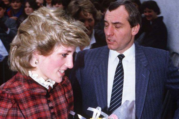 Barry Mannakee Princess Diana