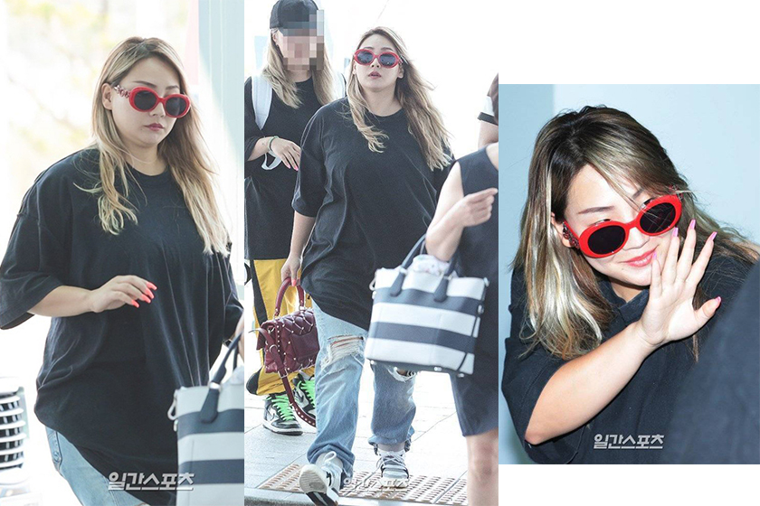 CL sports weight gain fans show concern for her ongoing friction with YG
