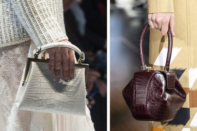 crocodile handbag fall 2018