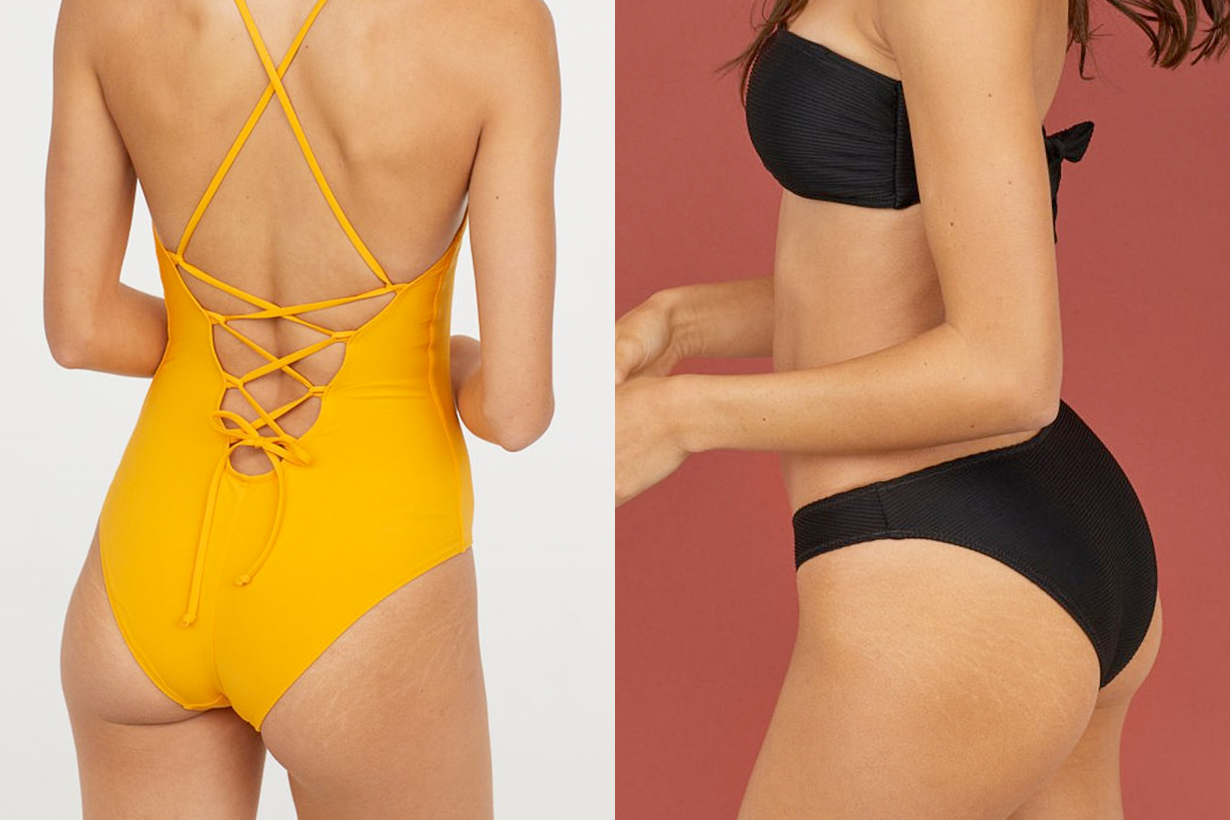 H&M ASOS MISSGUIDED refuse photoshop swimwear natural beauty