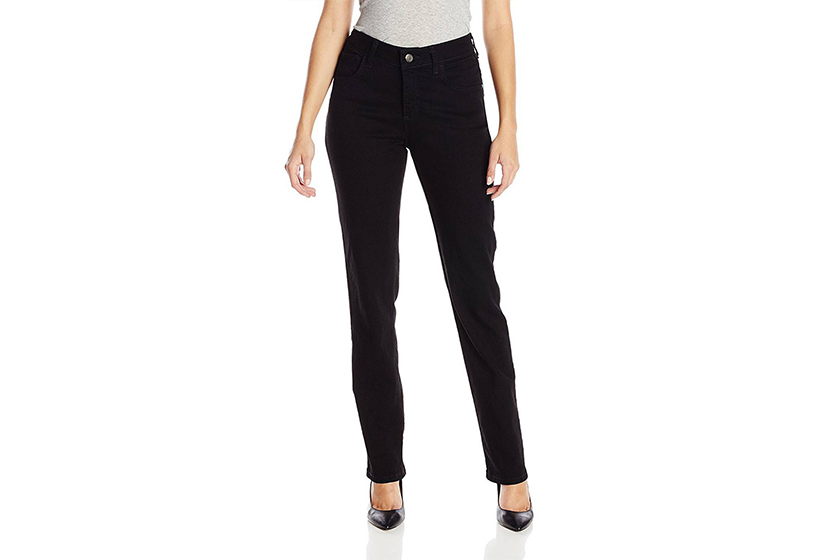 most-popular-amazon-jeans Lee Instantly Slims Classic Relaxed Fit Monroe Straight Leg Jean