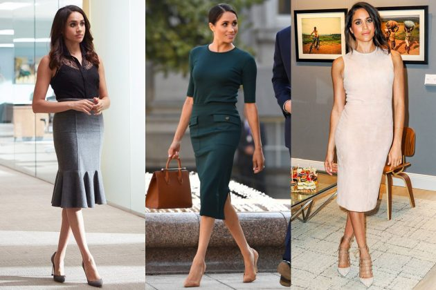 Meghan Markle Pencil Skirt