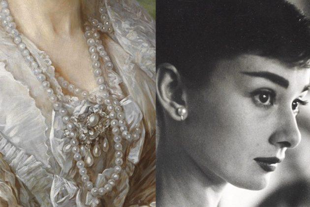 Pearl Earrings Audrey Hepburn