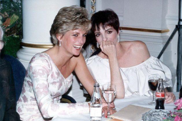 Liza Minelli Princess Diana Celebrities