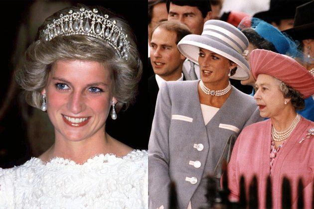 Princess Diana Queen Elizabeth II
