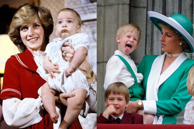 Princess Diana Prince William Prince Harry Wombat