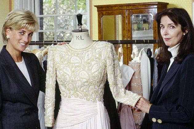 Princess Diana Catherine Walker Designer