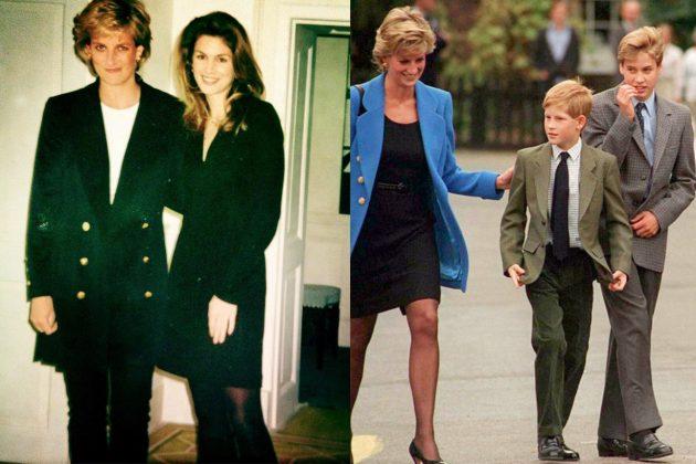Princess Diana Cindy Crowford