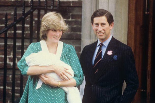 Princess Diana Prince William Born