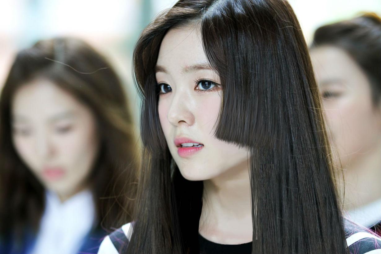 red velvet irene 日本公主切 发型图片