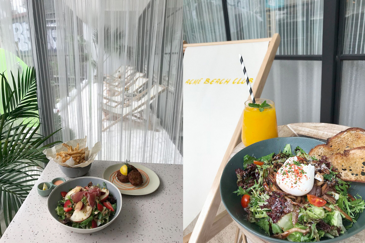 ACME BEACH CLUB breakfast taipei brunch checkin popup shop