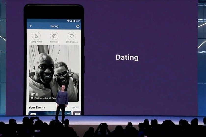 facebook dating service app internal trial