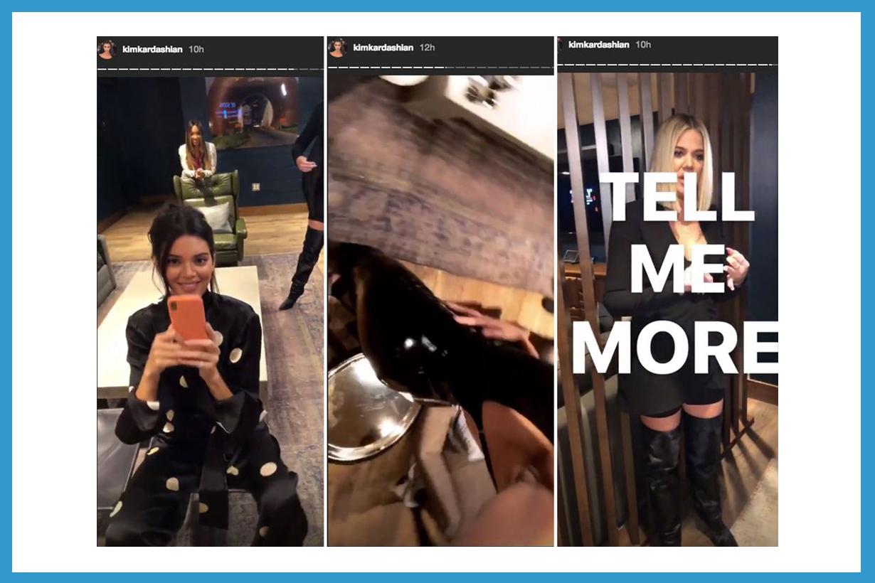Kim Kardashian Kourtney Kardashian Khloe Kardashian Kendall Jenner Keep Fit Slim body shape lose weight twitter doesnt eat anorexic
