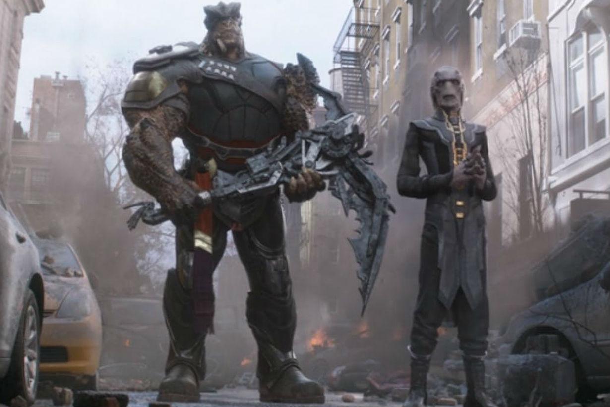 marvel avengers Captain Marvel thanos easter egg