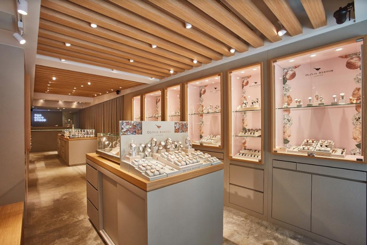 the unit store taipei first shop olivia burton