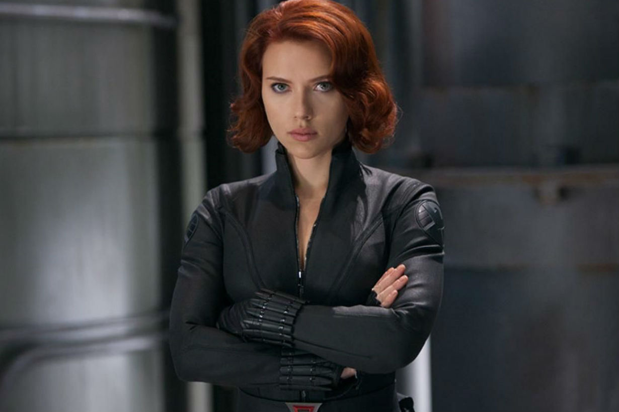 Scarlett Johansson Black Widow Marvel Avengers 復仇者聯盟 黑寡婦