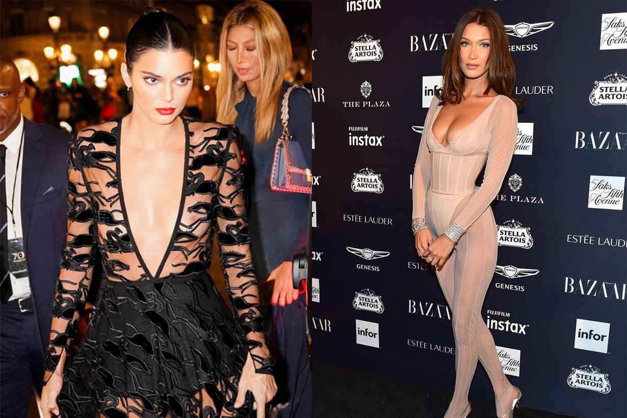 Bella Hadid and Kendall Jenner