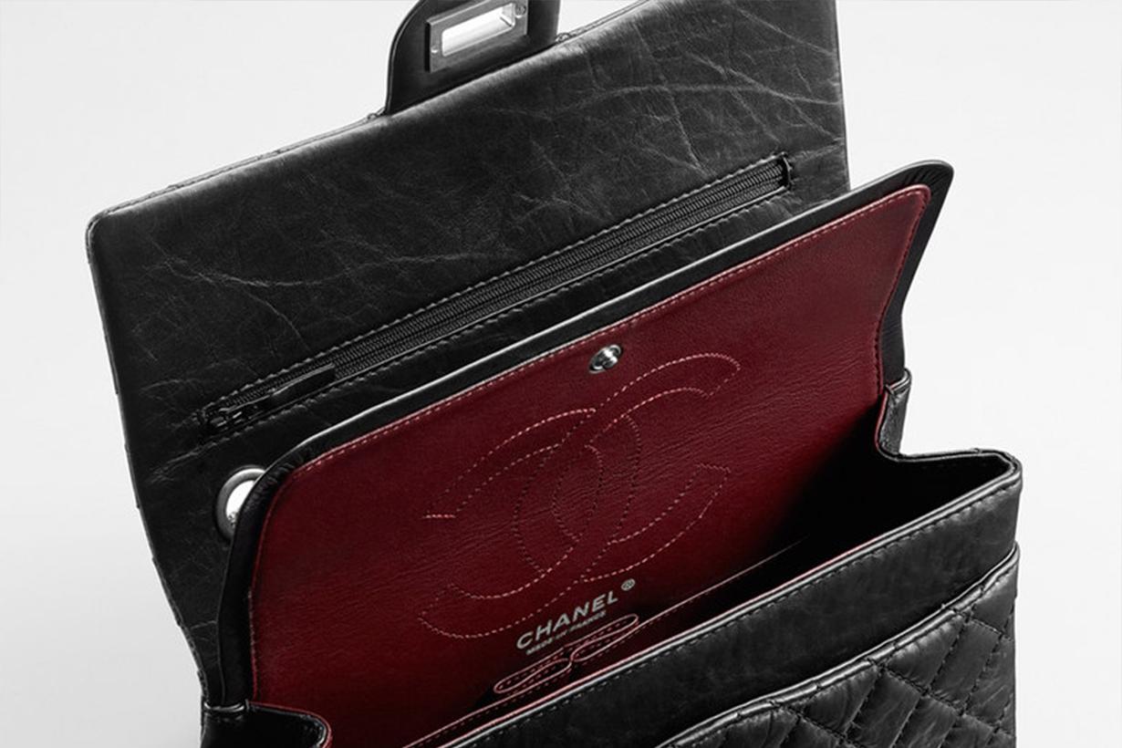 Chanel 2.55 Inside