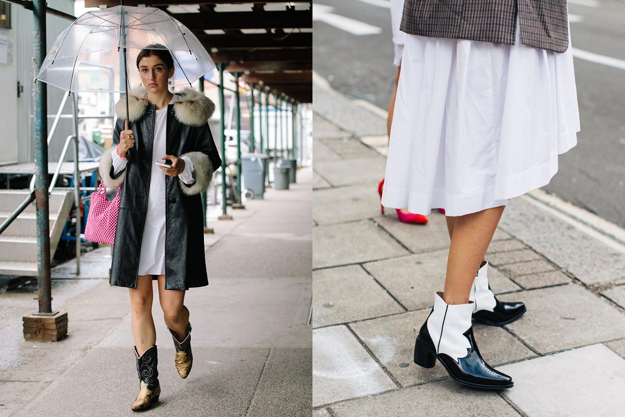 Cowboy Boots Fashion Week 2019 Street Style