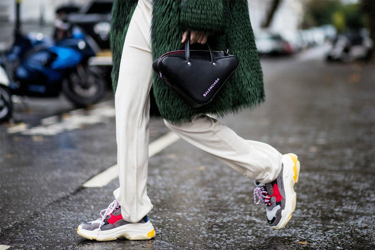 Dad Sneakers Street Style