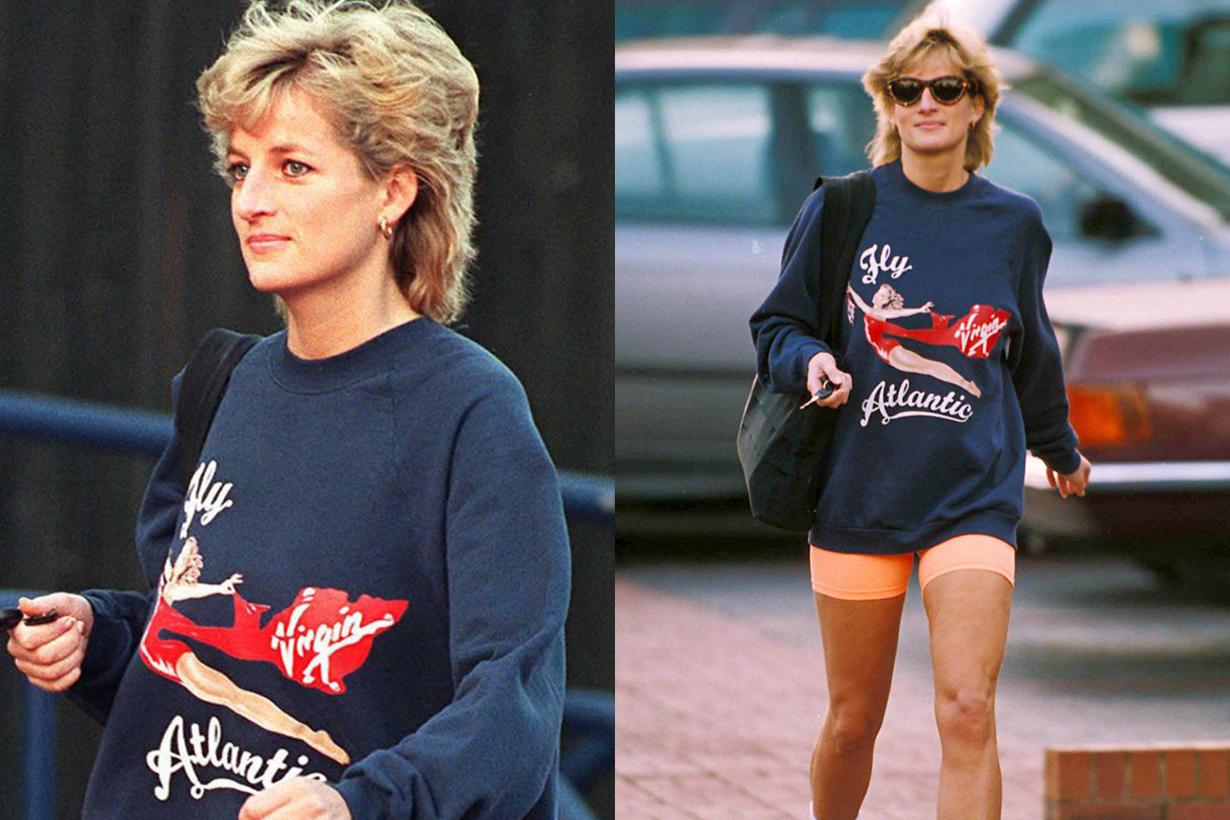 Diana's Virgin sweatshirt
