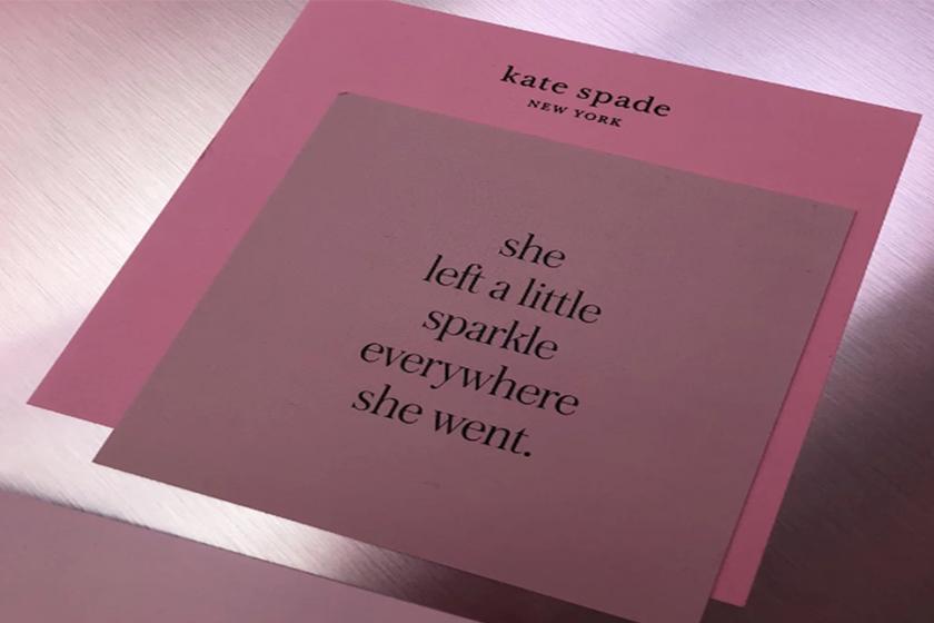 Kate Spade 2019 Spring Card