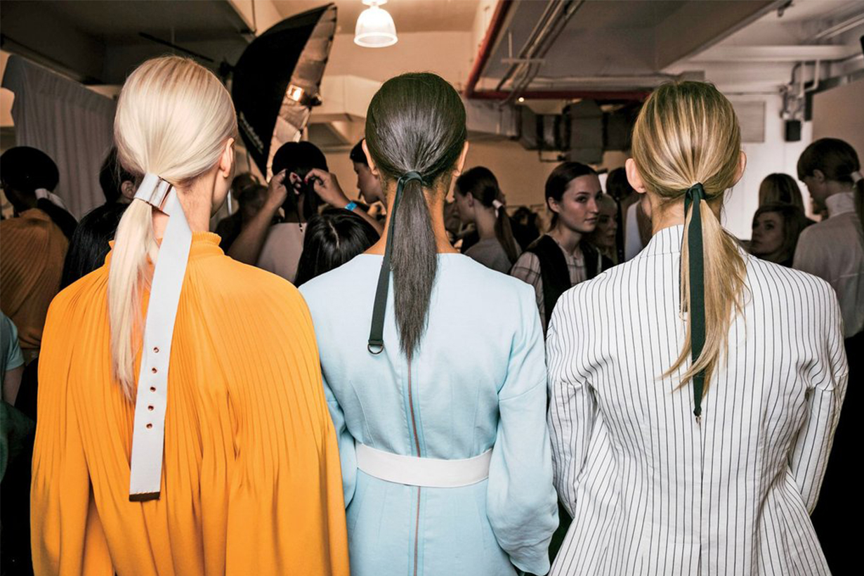 Ponytail Backstage