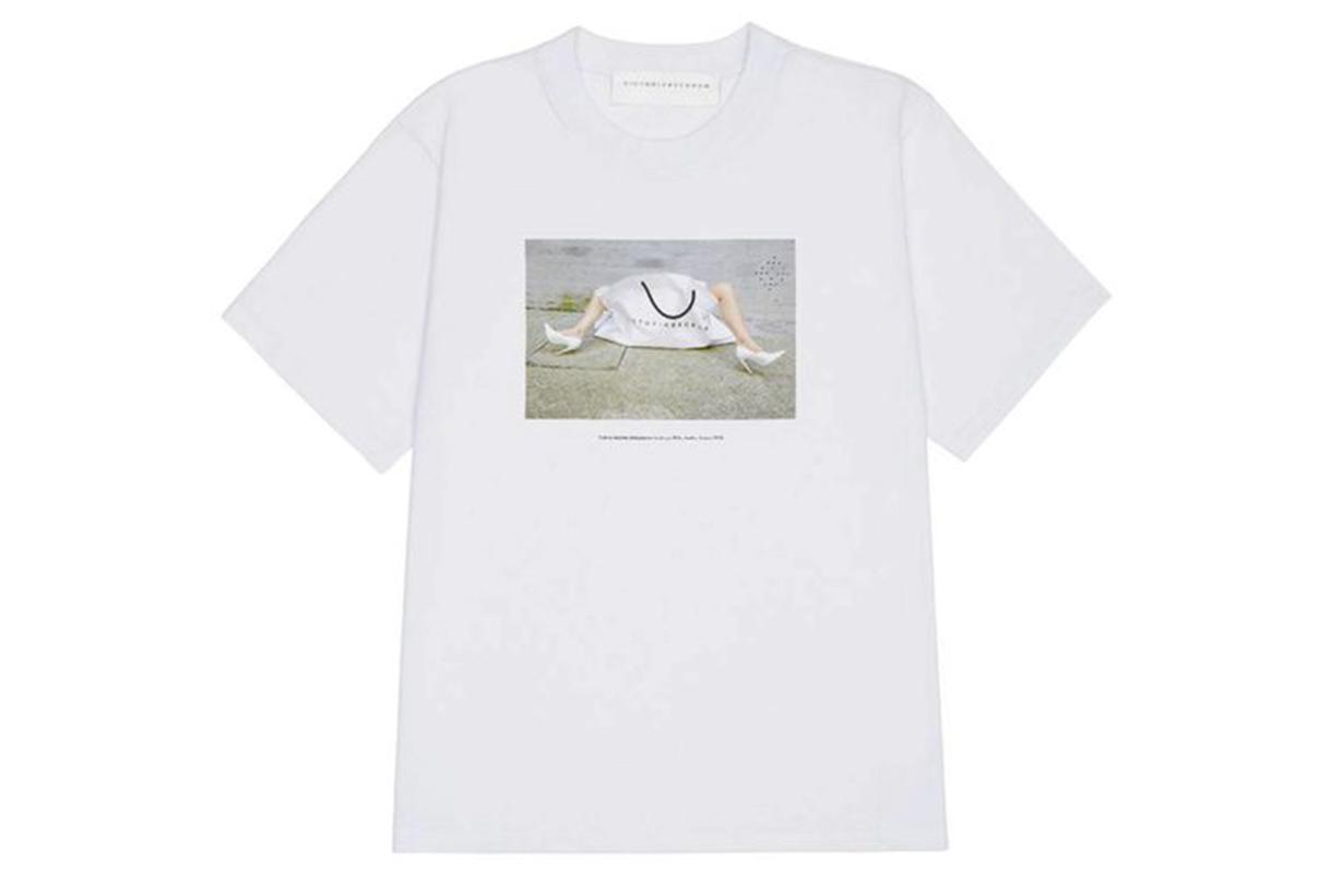 Victoria Beckham special edition 10th anniversary T-shirt