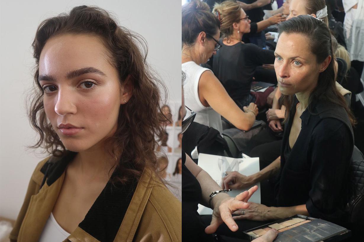 Victoria Beckham London Fashion Week 2019 Backstage