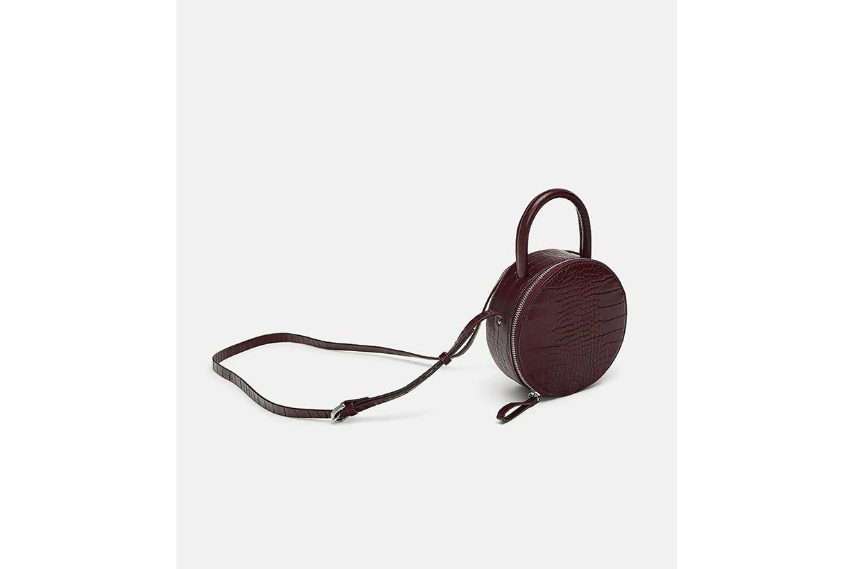 Zara Round Mini Crossbody Bag