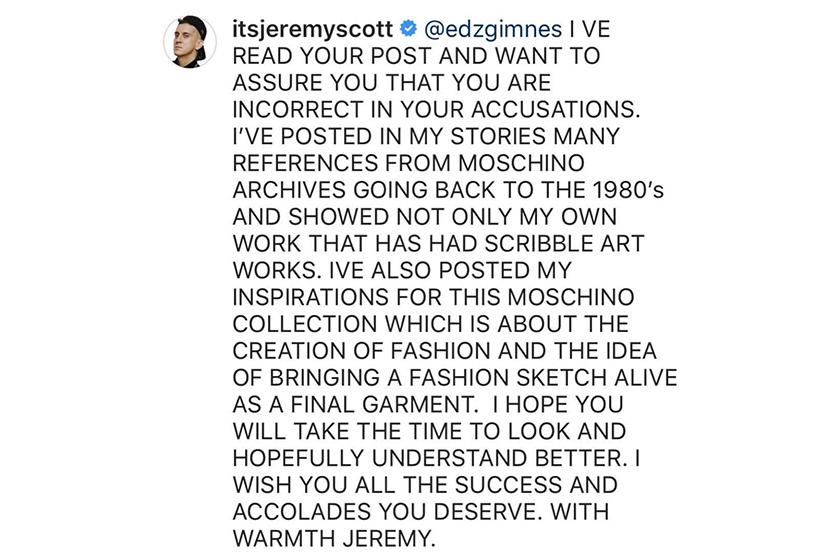 jeremy-scott-responds-to-claims-that-moschino-stole-fashion-influencer-edda-gimnes-designs