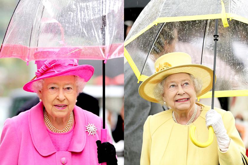 queen-elizabeth-umbrella-color-matching