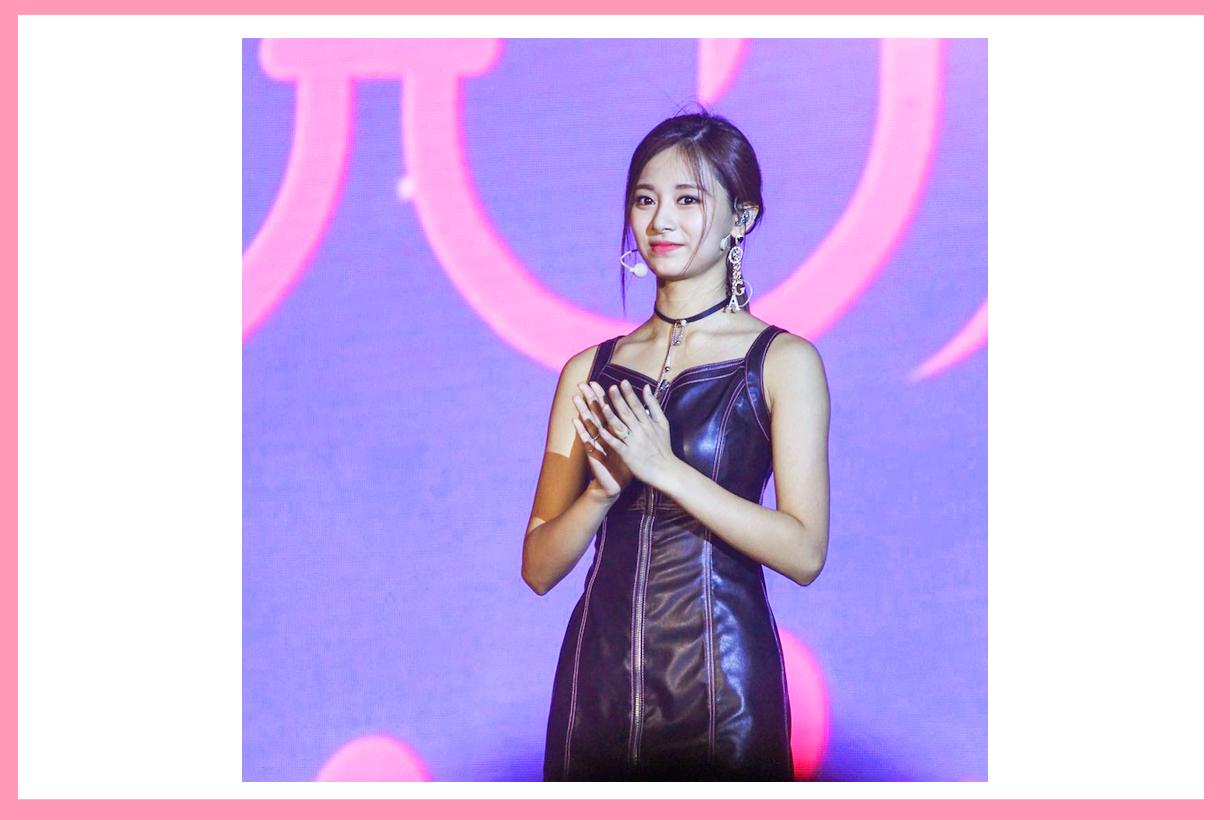 Twice Chou Tzuyu Twiceland Worldwide Concert Indonesia Low Ponytail Hairstyles Cute Ears