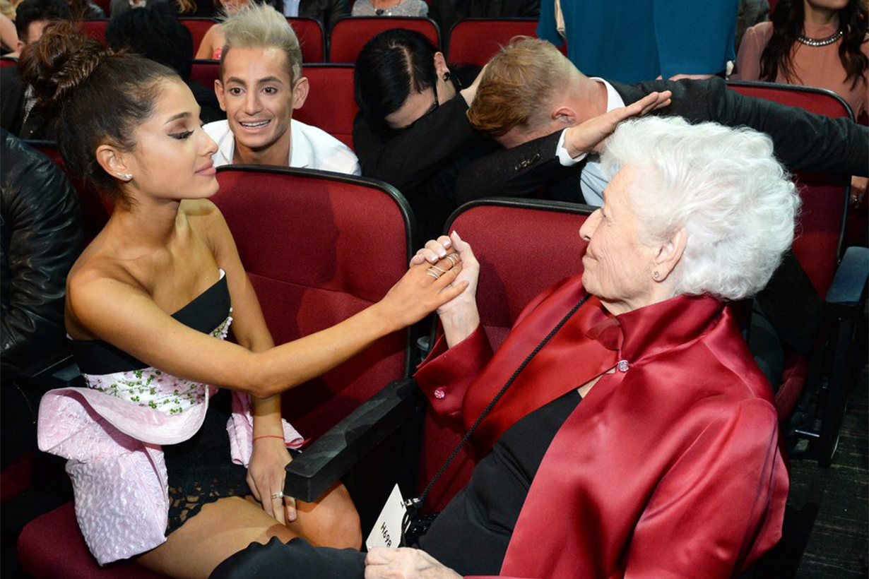 Ariana Grande Grandmother Nonna
