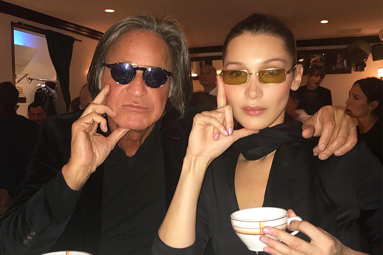 Bella Hadid and her father Mohamed Hadid