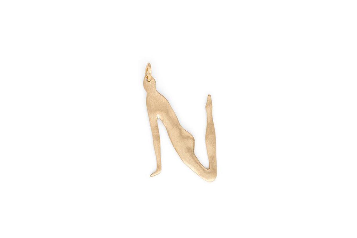 Bjorg Nude Alphabet Small N