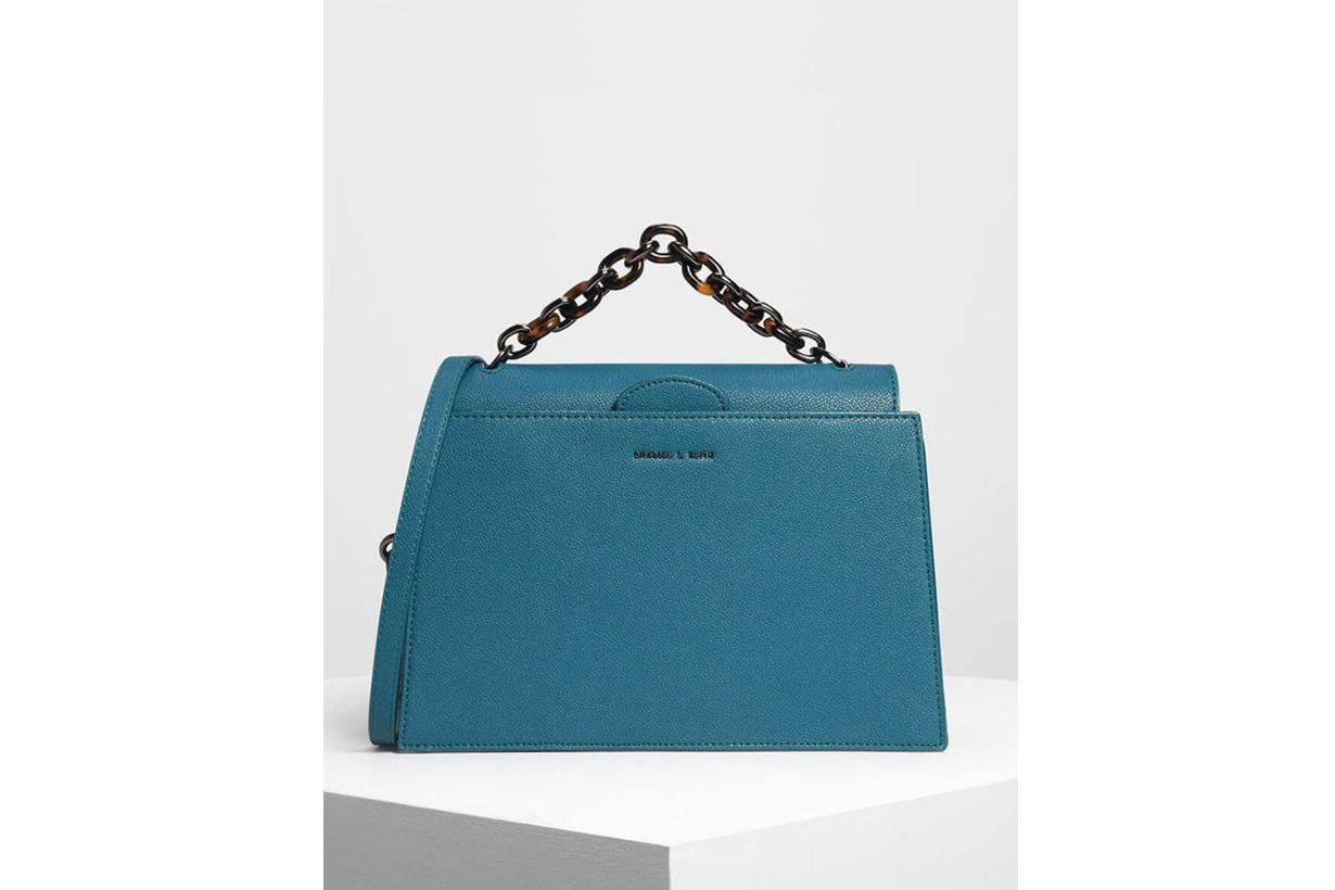 Charles & Keith Chain Handle Handbag