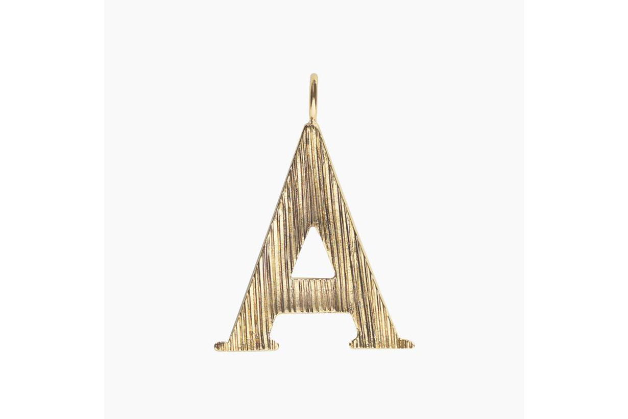 Chloé A Alphabet Necklce Pendant