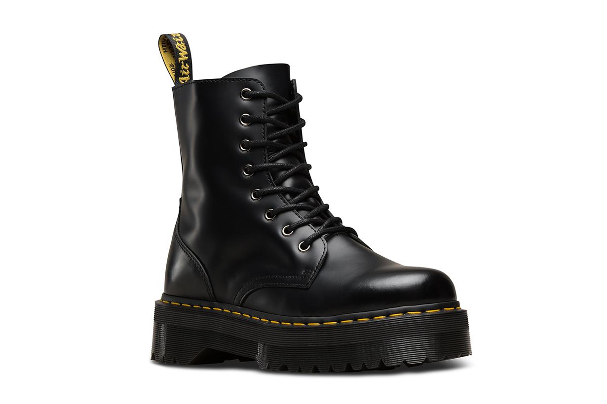 Dr Martens jadon chunky flatform boots