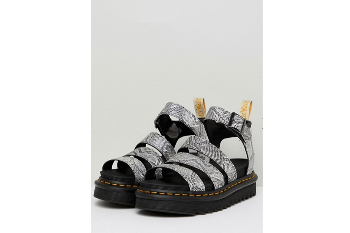 Dr. Martens Blaire Vegan Leather Strappy Flat Sandals
