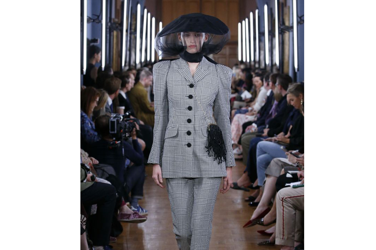 Erdem Princess Diana Veiled Hat